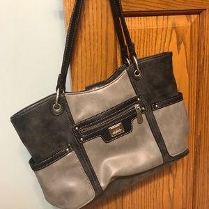 BOC leather handbag